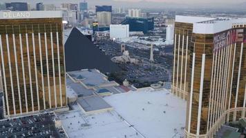 Las Vegas, Nevada, USA - 26. November 2014 Luftaufnahme des Las Vegas Strip? video