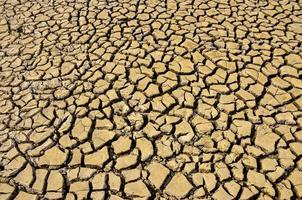 soil drought cracks texture background for design. photo
