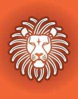 Lion Head Face Graphic vector