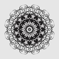 Decorative ornate round mandala Premium Vector