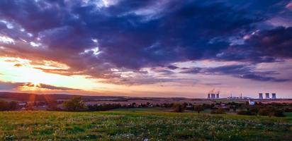 Nuclear power plant photo
