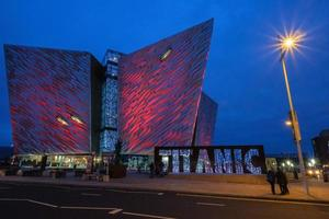 Titanic Center Belfast, Irlanda del Norte, Reino Unido foto