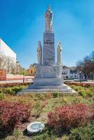 Subotica, Serbia, 01 de abril de 2017 - Monumento al emperador Jovan Nenad en Subotica foto