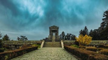 Belgrade, Serbia, Mar 18, 2017 - Monument to the Unknown Soldier from World War I photo