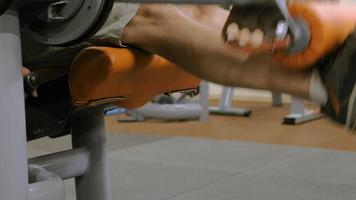 The man in the gym, Fitness, Healthy, and lifestyle concept video