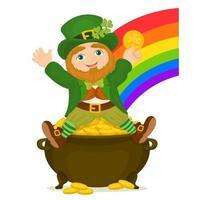 St. Patrick's Day symbols vector
