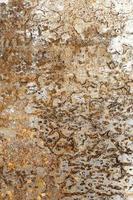 The rough metallic surface texture photo