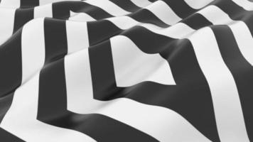 fond de vague de forme noir et blanc video