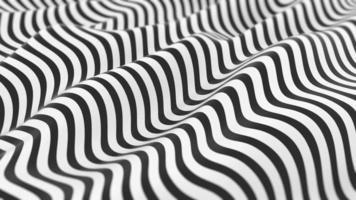 vague abstraite fond dépouillé noir et blanc video