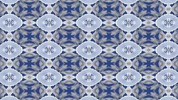 blauer und grauer Kaleidia-Hintergrund video