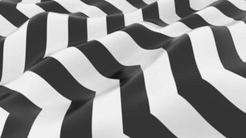 Abstract Liquid Black and White Stripes Background video