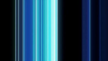 Animation of Abstract Blue Light Lines video