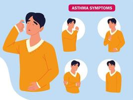 asthma symptoms disease vector