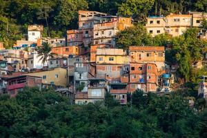 Slums of Tabajara in Rio de Janeiro, Brazil photo