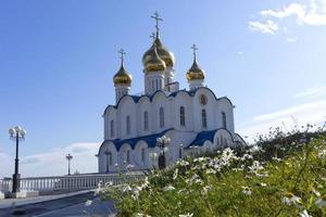 Iglesia de San Nicolás el Taumaturgo Petropavlovsk Kamchatsky Rusia foto
