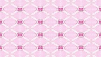 Pastellblumenform Kaleidoskop Hintergrund video