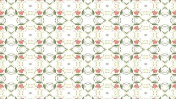 abstrakter Blumenkaleidoskophintergrund video