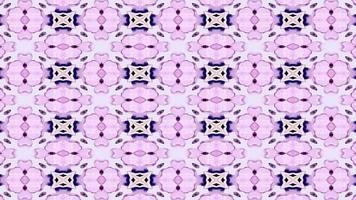 blauer und lila Kaleidoskophintergrund video