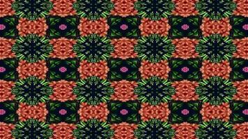 bunter Kaleidoskophintergrund video