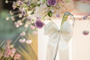 Wedding sword inn wedding ceremony photo