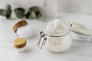 Shea butter beauty treatment assortment photo