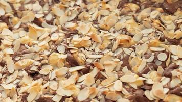 delicioso postre de chocolate de alto ángulo foto