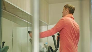 Elliptical Machine in the Gym video