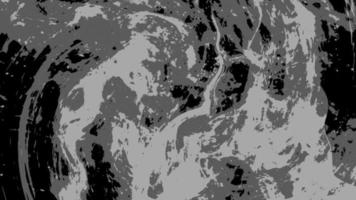 Abstract Black to White Grunge Flow Transition overlay video