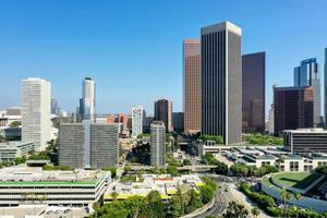 vista aérea creativa paisaje urbano complejo creativo vista superior foto