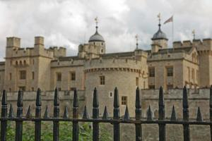 View of the Tower of London, London, UK photo