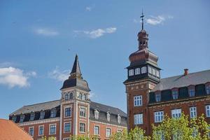 edificios de la ciudad de fredericia en dinamarca foto