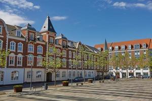 Edificio en la ciudad de Fredericia en Dinamarca foto
