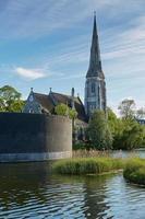 St Albans Church in Copenhagen, Denmark photo
