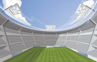 Stadium Background Concept vector