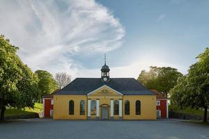Fortaleza histórica kastellet en Copenhague, Dinamarca foto