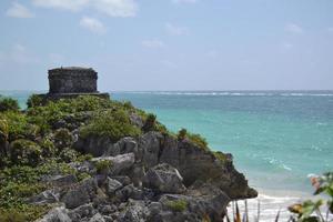 ciudad antigua en la playa foto