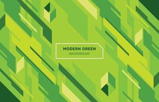 Modern Green Geometric Shapes Background vector