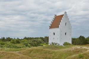 The Buried Church near Skagen, Denmark photo