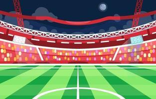 fondo del estadio de futbol vector