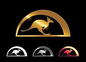 Kangaroo Logo Vector Sign