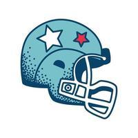 american football helmet vector