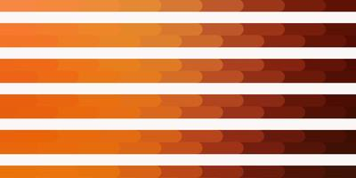 Light Orange vector background with lines Gradient abstract design in simple style with sharp lines Pattern for ads commercials