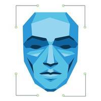 scan person face vector