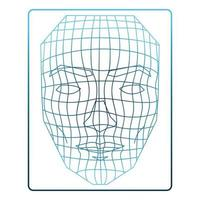 recognition human head vector