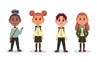Back to School Character vector