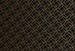 dark gold line geometric pattern vector