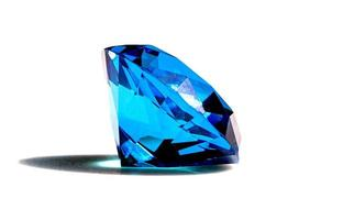Beautiful blue diamond photo