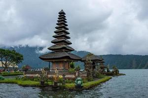 The Pura Ulun Danu Beratan Bedugul Temple in Bali photo