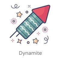 Firecrackers celebration Design vector