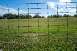 A fence in Hoooksiel in Germany photo